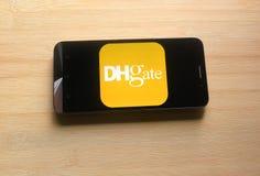 DHgate app στοκ εικόνες με δικαίωμα ελεύθερης χρήσης