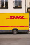 DHL abstract Stock Photo