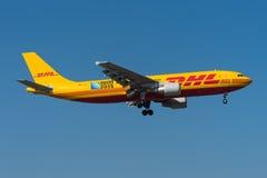 DHL Aerobus A300 Zdjęcie Stock