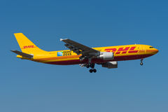 DHL Airbus A300 Stockfoto