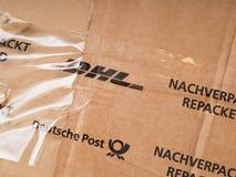 DHL et Deutsche Post image stock