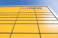 DHL Packstation Immagini Stock