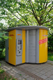 DHL Packstation Photographie stock