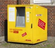 DHL-Paketbox Стоковое фото RF
