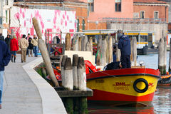 DHL Venice Stock Photography