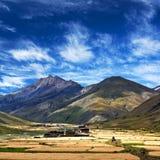 Dho Tarap Village in Dolpo, Nepal Stock Image