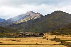 Dho Tarap Village in Dolpo, Nepal Stock Photos