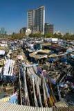 Dhobi Ghat, το παγκόσμιο μεγαλύτερο υπαίθριο πλυντήριο Στοκ Εικόνες