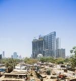 Dhobi Ghat洗衣店,孟买,印度 库存图片