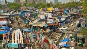 Dhobi Ghat Arkivfoto
