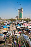 Dhobi Ghat Laundry. The world's largest open laundry in Mumbai, India Stock Image