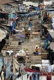 Dhobi Ghat, Mumbai Stock Afbeelding