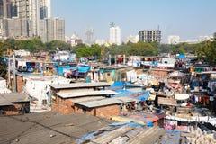 Dhobi Ghat in Mumbai Royalty Free Stock Photography