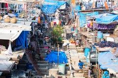 Dhobi Ghat in Mumbai Royalty Free Stock Image