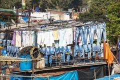 Dhobi Ghat in Mumbai Stock Photography