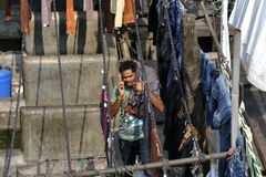 Dhobi Ghat Mumbai Stock Photography