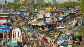 Dhobi Ghat. Mumbai mahalaxmi dhobi that Stock Photo