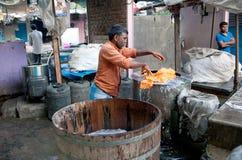 Dhobi Ghat in Mumbai, Maharashtra, India Stock Photography