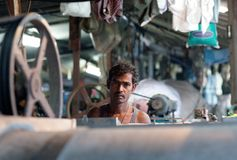 Dhobi Ghat in Mumbai, Maharashtra, Indien Lizenzfreies Stockfoto