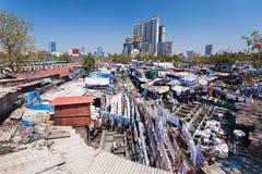Dhobi Ghat, Mumbai Royalty Free Stock Photography