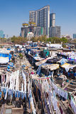 Dhobi Ghat, Mumbai. Dhobi Ghat is a well known open air laundromat in Mumbai, India Stock Images