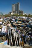 Dhobi Ghat, the world's largest outdoor laundry Stock Photo