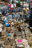 Dhobi Ghat, the world's largest outdoor laundry Stock Photography
