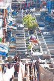 Dhobi Ghats laundry area of Mumbai india Royalty Free Stock Photography