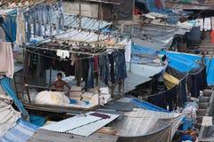 Dhobi Mumbai ghat Στοκ Εικόνα