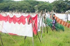 Dhobi washing spot Stock Images