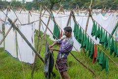 Dhobi washing spot Royalty Free Stock Photos