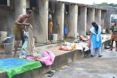 Dhobi washing spot Royalty Free Stock Photography