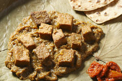 Dhokar Dalna - A Dish from Bengal in India Royalty Free Stock Image