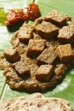 Dhokar Dalna a recipe made of bengal gram Stock Images