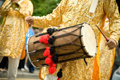 Dhol drum stock photo