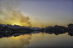Dhook Taliyan水坝巴基斯坦 免版税库存图片