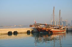 Dhow cruise. Royalty Free Stock Images