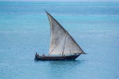 Dhow de la navegación Fotografía de archivo libre de regalías