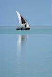Dhow del Mozambico Immagine Stock