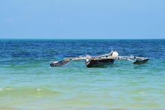 Dhow del ` s de los pescadores Fotografía de archivo