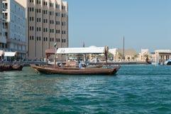 Dhow del traghetto nel Dubai fotografia stock