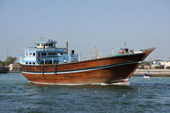 Dhow at Dubai Creek Stock Photos
