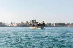 Dhow at Dubai Creek Stock Images