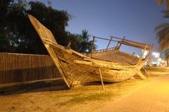 dhow Dubai tradycyjny drewniany obraz stock