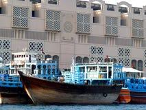 Dhow em Dubai Creek Imagens de Stock