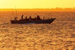 Dhow het traditionele schip van de visserijambacht Stock Foto's