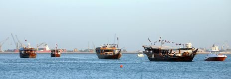 Dhow Parade Stock Image