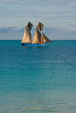 Dhow Sailing Royalty Free Stock Photography