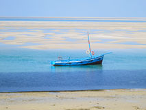 Dhow on the shores of Vilankulo Stock Image