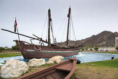 Dhow Sohar in Muscat Royalty Free Stock Photo